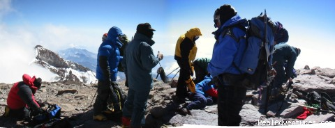 Climb Aconcagua with experienced guides