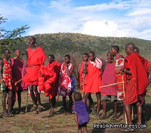 Masai Dance - Kenya Wildlife Safaris Road & Air Packages