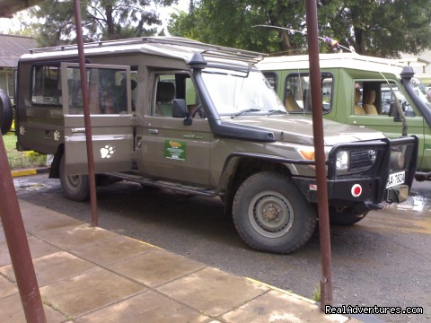 Kenya Wildlife Safaris Road & Air Packages: Safari Landcrusier