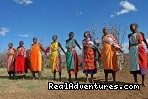 Masai women dance  - Kenya Wildlife Safaris Road & Air Packages