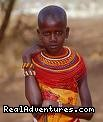 Masai child - Kenya Wildlife Safaris Road & Air Packages