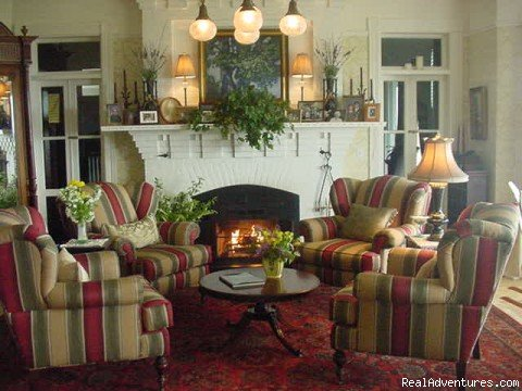 The living room | Image #3/6 | Simply beautiful, Blair Hill Inn at Moosehead Lake