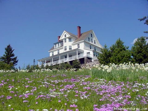 Simply beautiful, Blair Hill Inn at Moosehead Lake The inn atop Blair Hill