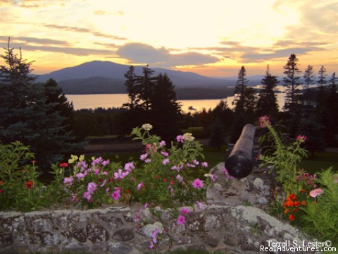 Sunset - Simply beautiful, Blair Hill Inn at Moosehead Lake