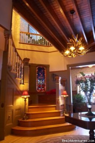 Entryway (#4 of 10) - Simply beautiful, Blair Hill Inn at Moosehead Lake