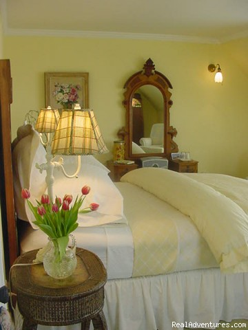 Guest Room (#6 of 10) - Simply beautiful, Blair Hill Inn at Moosehead Lake