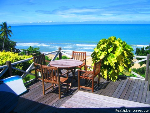 Tea Table On The Verandah - Tempurung Seaside Lodge where dreams comes alive