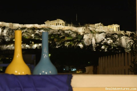Boutique Hotel With Acropolis View