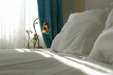 Bed details - Boutique Hotel With Acropolis View