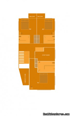 first floor plan - Kuzhupilly Beach House - one of the best in Kerala
