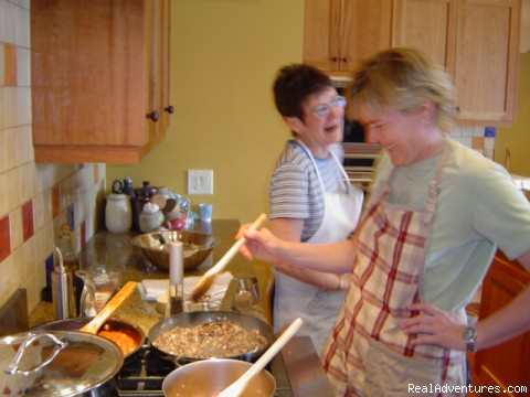 Cooking up a storm! - Hands-on Gourmet Cooking Workshops at Wine & Thyme