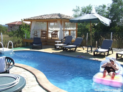 The Pool - Almar Bb Villa On The Fantastic Blacksea Coast