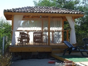 Relax in the gazebo - Almar Bb Villa On The Fantastic Blacksea Coast