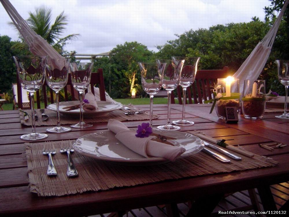 Dinner by candlelight | Image #8/15 | Romantic Weekend Getaways at a Beachfront B&B