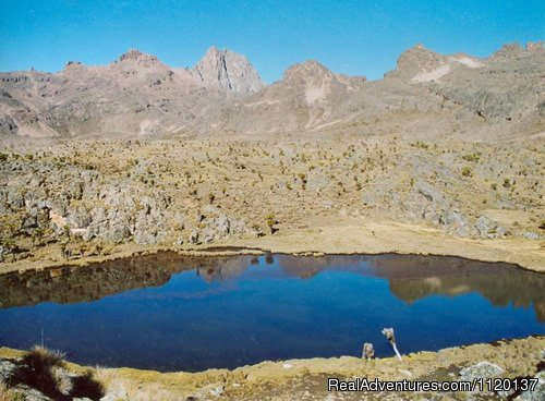 Go To Mount Kenya Halls Tarns
