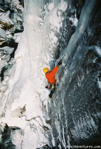 Carskill Ice Climbing - Alpine Endeavors - Climb throughout New York