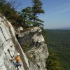 Alpine Endeavors - Climb throughout New York Limelight, The Trapps, 5.7