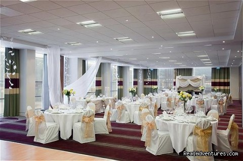 Vitosha Wedding Set Up - Holiday Inn Sofia