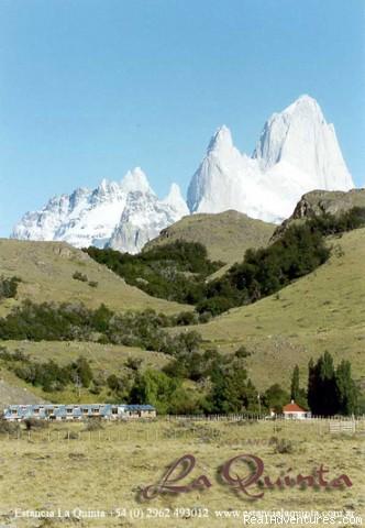 Estancia La Quinta, Argentinian Patagonia Front view