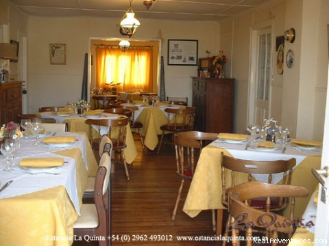 Restaurant - Estancia La Quinta, Argentinian Patagonia