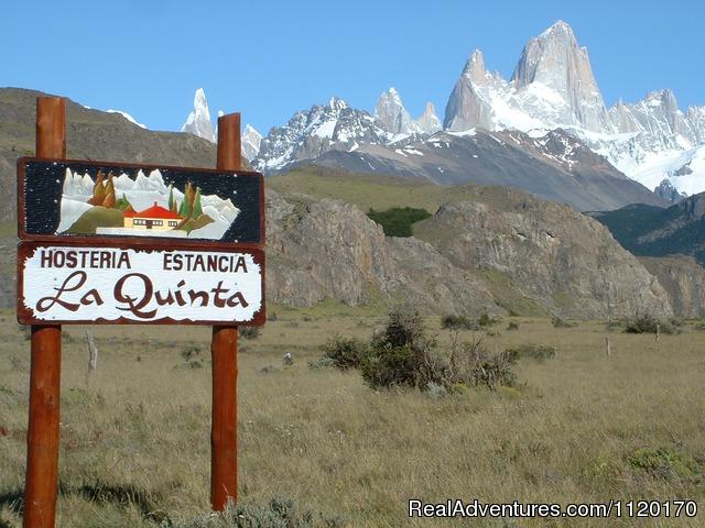 Entrance - Estancia La Quinta, Argentinian Patagonia