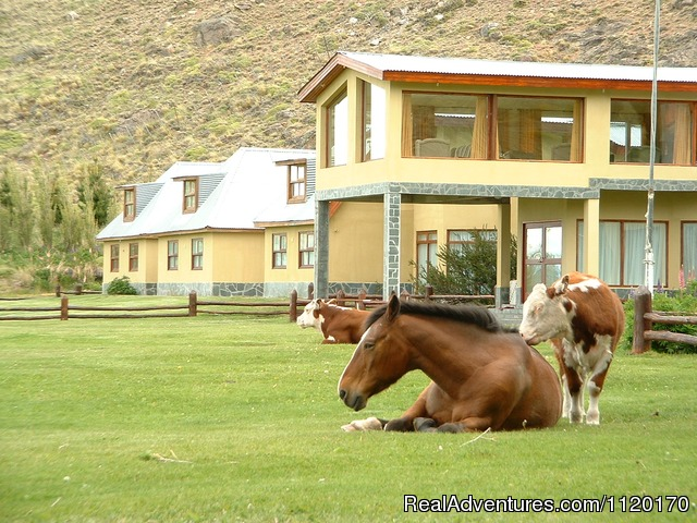 Front door - Estancia La Quinta, Argentinian Patagonia