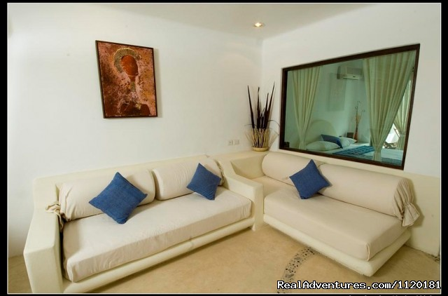 lounge area  - Beautiful Playa del Carmen Condo Best Location