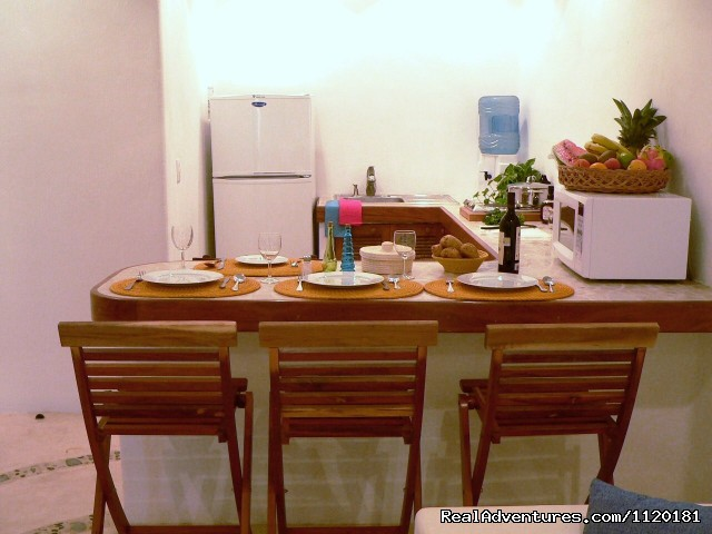 Kitchen area - Beautiful Playa del Carmen Condo Best Location