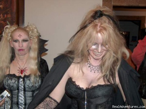 Halloween Party in Transylvania - Halloween in Transylvania with Vlad the Impaler