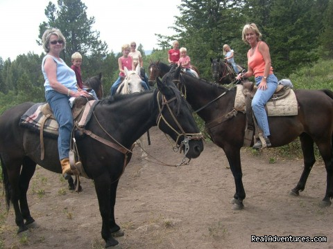Group of Horses (#5 of 21) - Fantastic Horseback Riding in Yellowstone Country