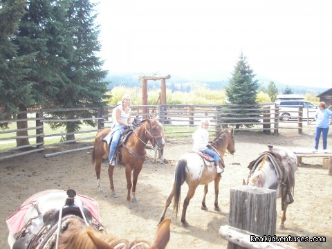 South Corral - Fantastic Horseback Riding in Yellowstone Country
