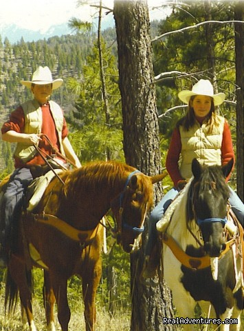 Joe and Elda Bakula - Fantastic Horseback Riding in Yellowstone Country