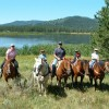 Fantastic Horseback Riding in Yellowstone Country Island Park, Idaho Horseback Riding