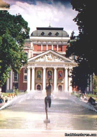 National Drama Theatre in Sofia - Enjoy Bulgaria with our Special Interest Tours.