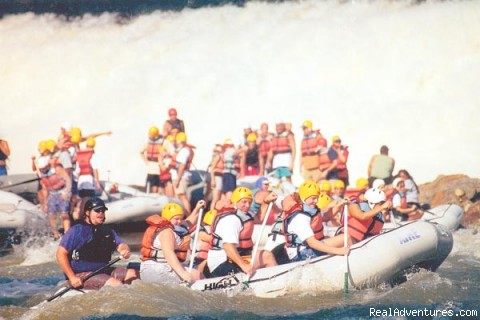 Ocoee River Whitewater Rafting Trips Chattanooga, Tennessee Rafting Trips