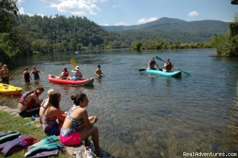 Hiwass River - Ocoee River Whitewater Rafting Trips