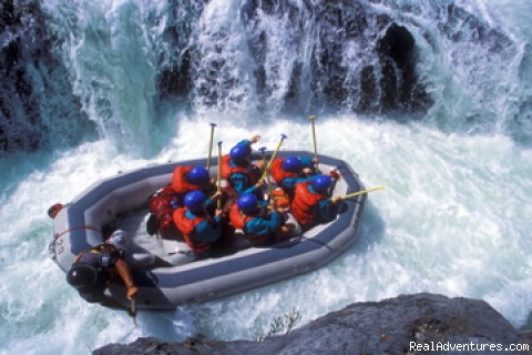 Middle Fork - Tunnel Chute - California Whitewater Rafting with All-Outdoors