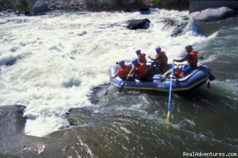 Merced river calm stretch - California Whitewater Rafting with All-Outdoors