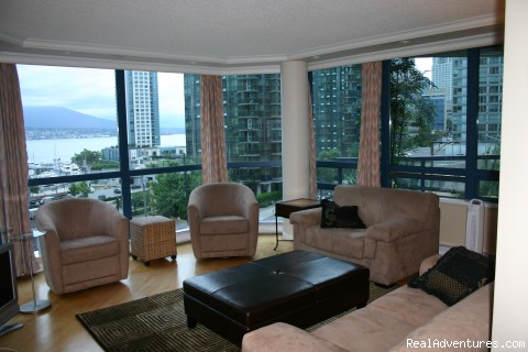 Dining - Coal Harbour Downtown Vancouver Luxury View condo