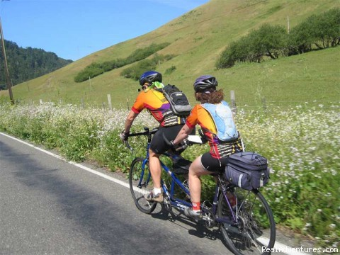 Pacific Coast springtime - Road Bike Tours in California - UDCTOURS