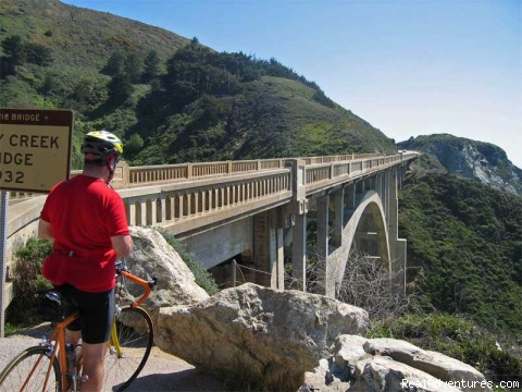Big Sur Bixby Bridge (#6 of 9) - Road Bike Tours in California - UDCTOURS