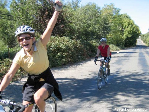 Pumped up cyclists (#7 of 9) - Road Bike Tours in California - UDCTOURS