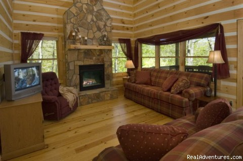 Image #8 of 13 - Over The Edge Cabin-A place to unwind