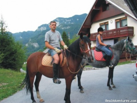 Horse riding - Apartment Brglez Bled
