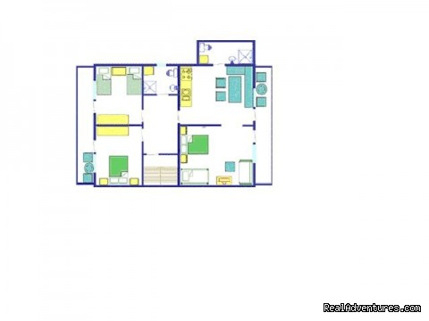 Plan - Apartment Brglez Bled
