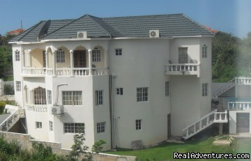 Magnicent 3 story Ocho Rios  Ocean View Villa Side view - Ocho Rios OceanView Villa: Free night