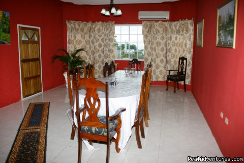 Formal Dinning Room with Ocean View - Ocho Rios OceanView Villa: Free night