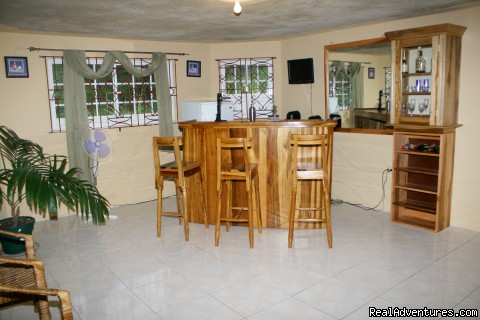 Ocean View Villa Recreation Room/Bar - Ocho Rios OceanView Villa: Free night