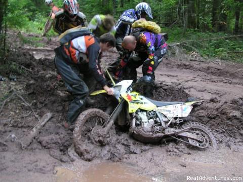 mud (#2 of 13) - Explore rural Romania by ENDURO bike.