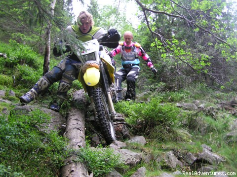 down we go - Explore rural Romania by ENDURO bike.